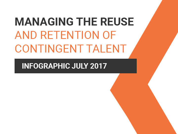 Managing the reuse of contingent talent – Infographic