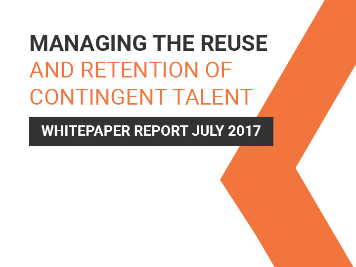 Managing the reuse of contingent talent – Whitepaper