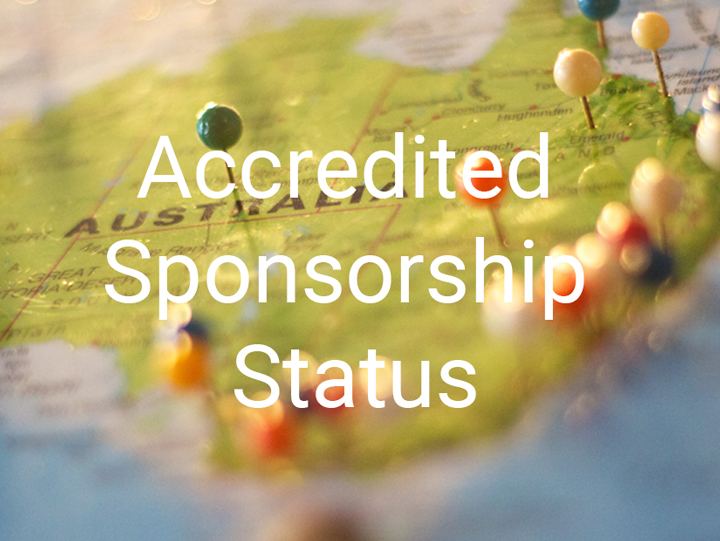 Benefit from changes to the Accredited Sponsorship Status